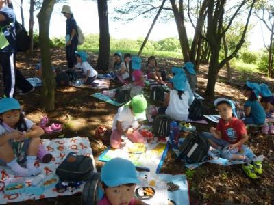 木陰で昼食.JPG