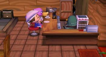 喫茶店にて