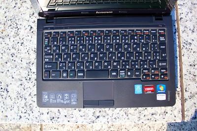 IdeaPad U165 キーボード レビュー