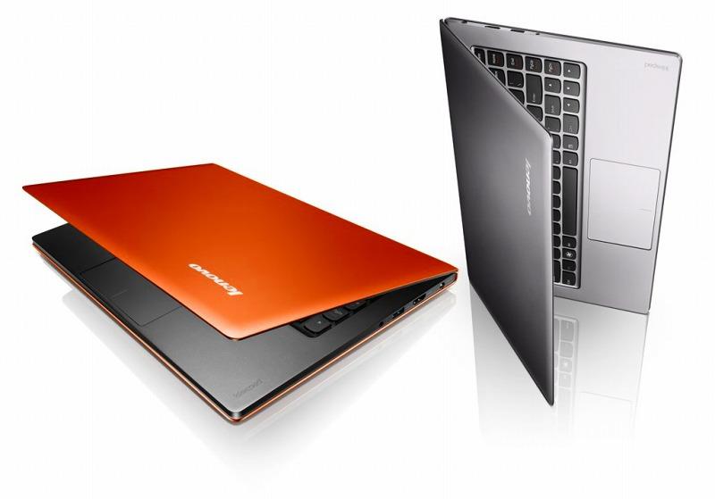 IdeaPad U300s クレメンタインオレンジ / グラファイトグレー