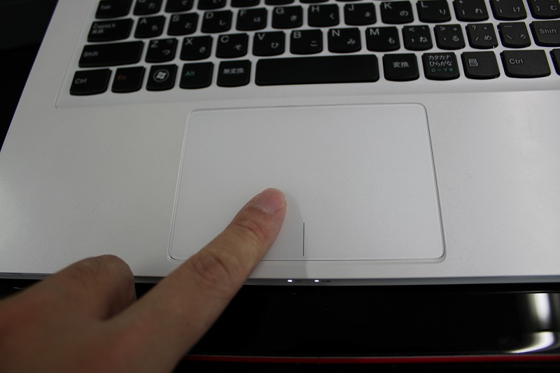 IdeaPad U310タッチパッド
