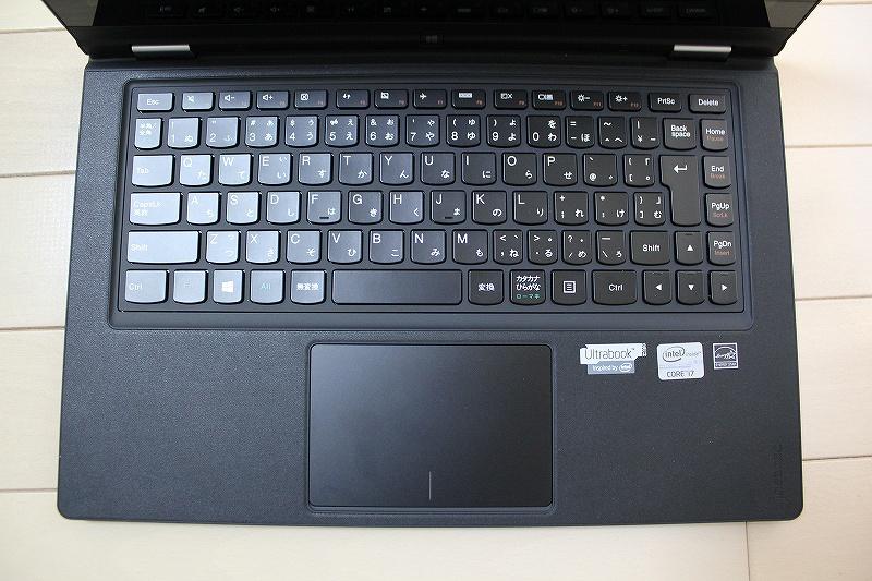 IdeaPad YOGA13キーボード