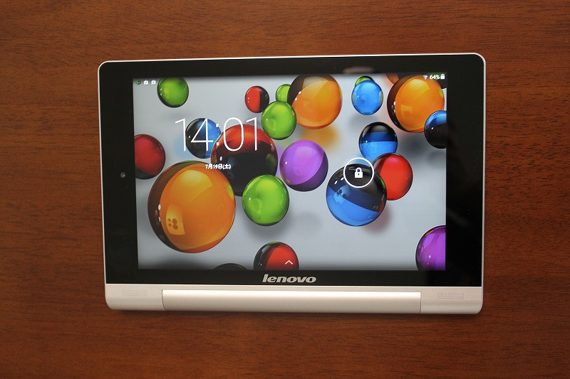 YOGA TABLET 8 android 4.4.2へアップデート