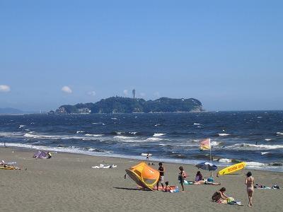 辻堂海岸江ノ島