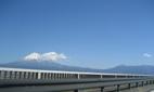 2月27日 朝の富士山 新富士川橋から