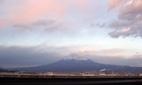 2月27日 夕方の富士山 R1から