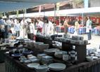 三島大社 陶器市