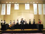 「ふじのやま」合唱の演奏