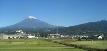 2週間前(11月下旬)の富士山