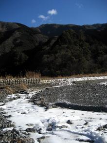梅ケ島の冬