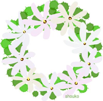ティアレの花の無料イラスト フリー素材 夏の花 南国の花 Shoukoyamada イラストブログ