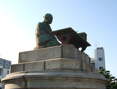 貝原益軒銅像