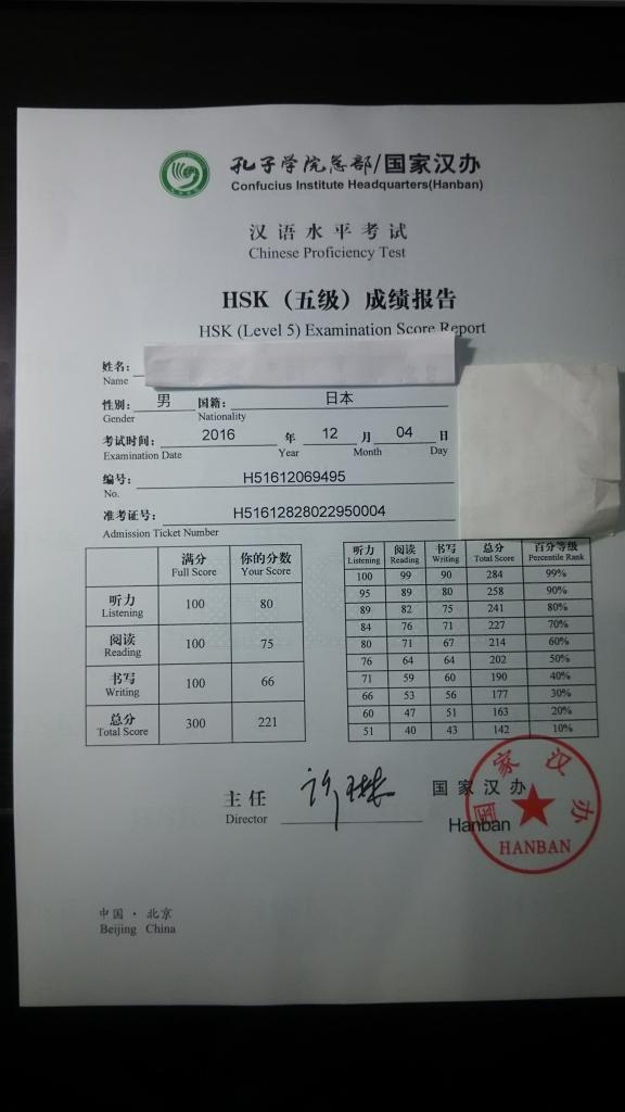 独学 中国語検定