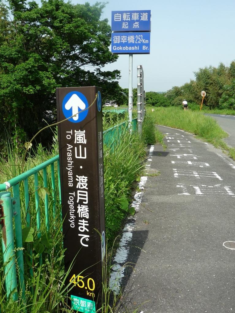 嵐山木津サイクリング