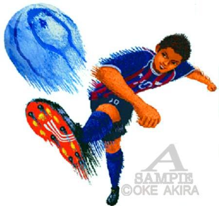 サッカー イラスト wカップ 日本代表