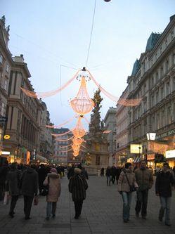ウィーンのイルミネーション