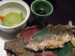 川魚&枝豆まんじゅう