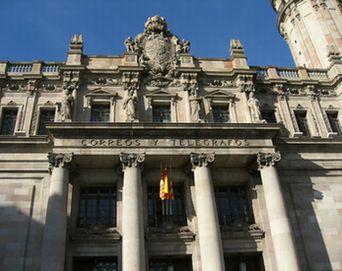 バルセロネータの中央郵便局