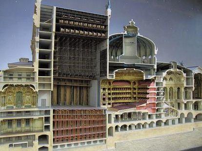 オペラ・ガルニエの模型