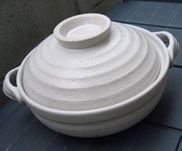 ニ◎リの土鍋。活躍してくれました