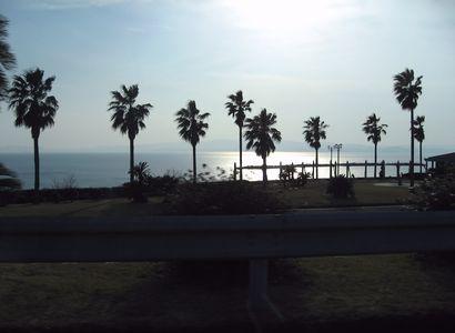 大村湾はきれいでした