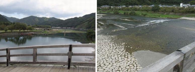 錦川がまた美しい