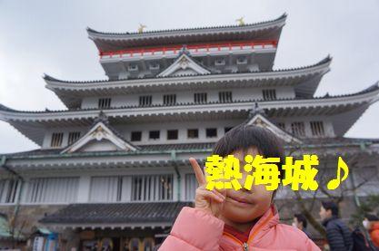 日本の観光はやっぱりお城だね