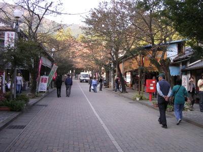 華厳寺の参道