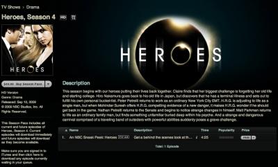HEROES シーズン4