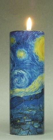 星月夜のキャンドルホルダ