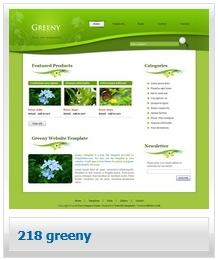 テンプレート_218_greeny