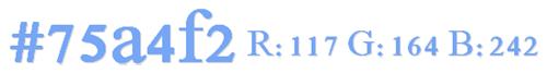 #75a4f2(R:117 G:164 B:242)