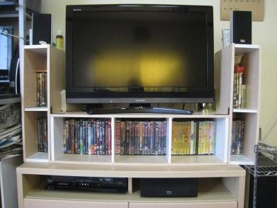 テレビ周り