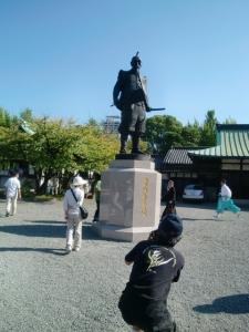 豊国神社の太閤秀吉様