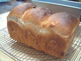 くるみレーズン食パン♪
