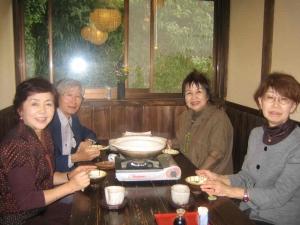 山村さん女性3人と