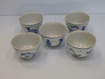 古染付 煎茶椀