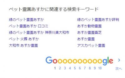 グーグル検索SEO