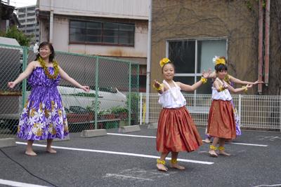 フラダンス3発目