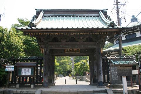 妙本寺(鎌倉)山門