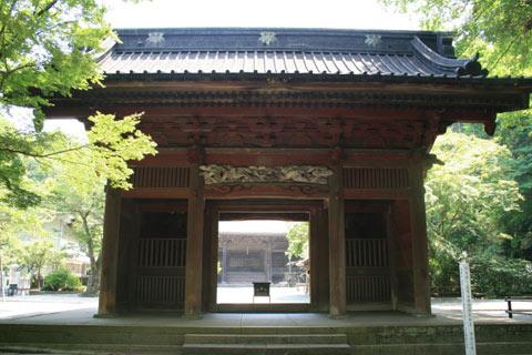 妙本寺(鎌倉)仁王