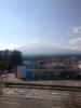 雪化粧の富士山キレイですね〜