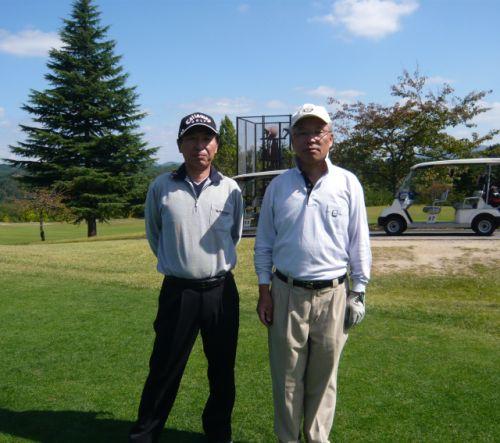 11/21東和ゴルフ大会にて