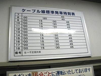 男山ケーブルカー3