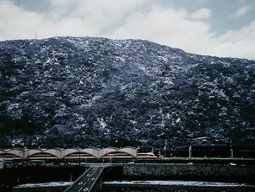 箱根の雪景色