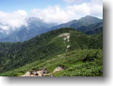 聖岳と上河内岳