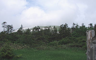 笊森山方面