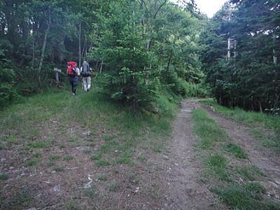正規の登山道
