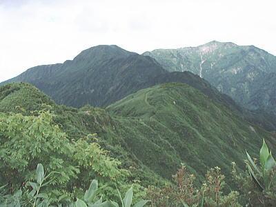 三ノ峰方面