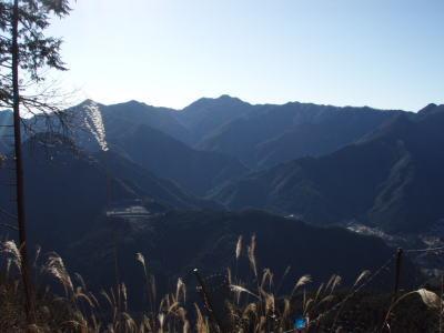 大岳山方面